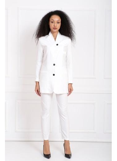 Sense Takım Elbise Beyaz